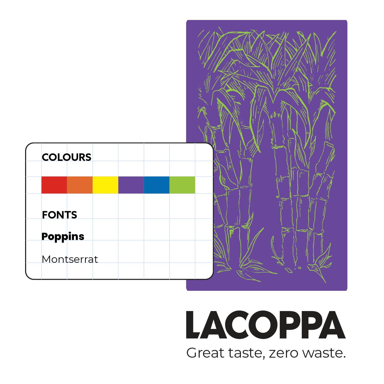 Brand identity update for LACOPPA, by Studio Foyne