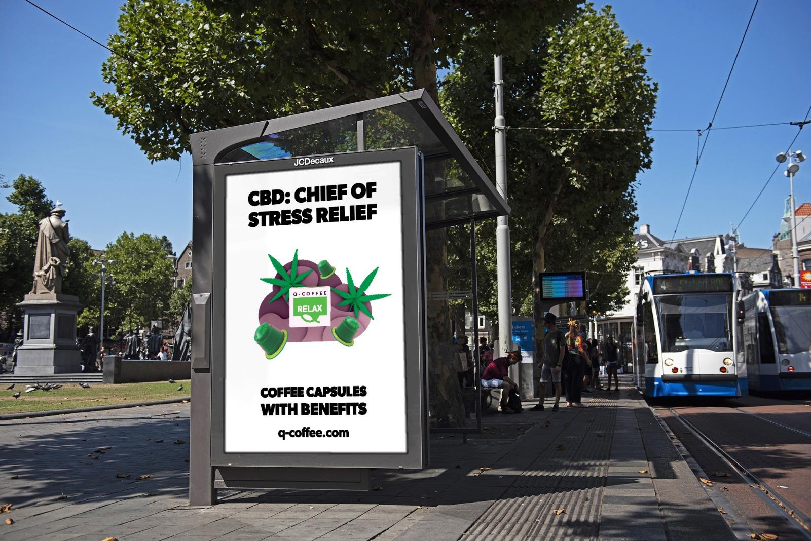 Q‑COFFEE Poster Campaign